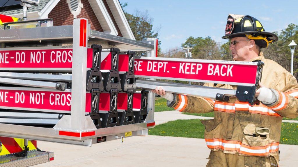 Retracta-Cade in Fire Department Truck